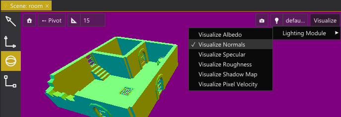 Visualizing normals.